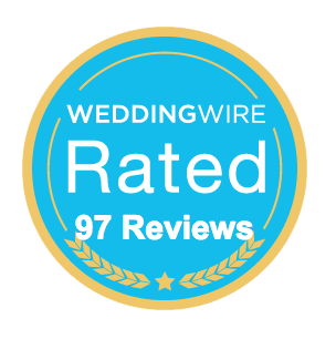Weddingwire Beach House reviews badge